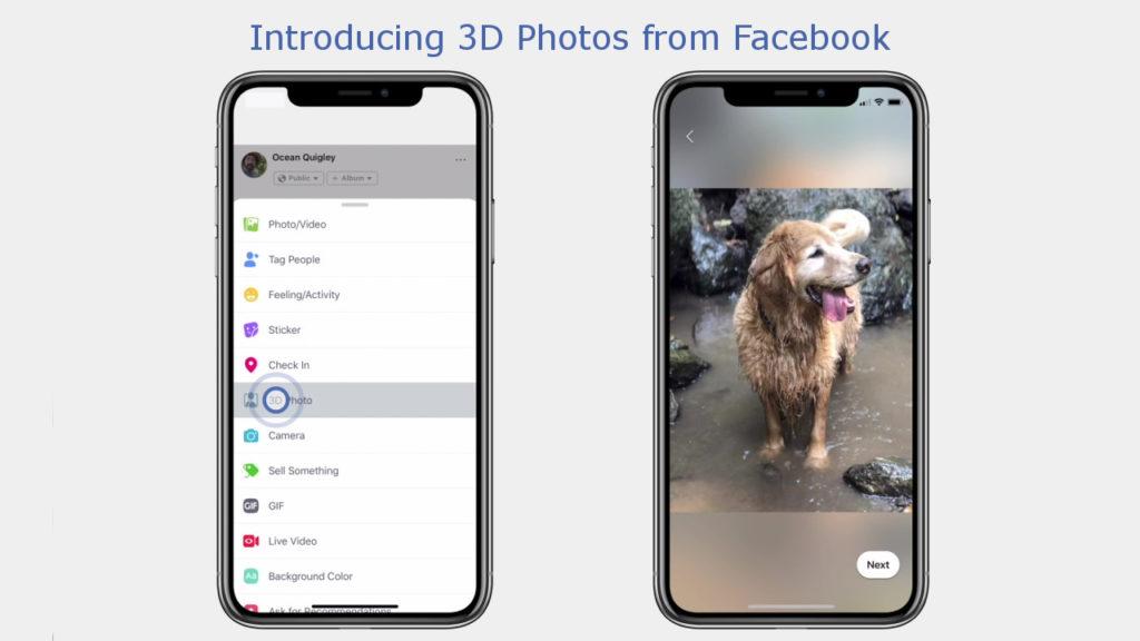Comment publier des photos 3D sur Facebook